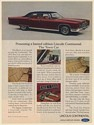 1972 Lincoln Continental Town Car Limited Edition Print Ad