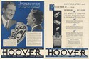 1931 Hoover Ball Bearings Roller Bearings Double-Sided Print Ad