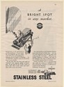1931 American Stainless Steel Company Automobile Used Car Lot Print Ad