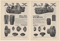 1931 Ajax Heavy Duty Upsetting Forging Machines 2-Page Print Ad