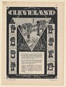 1931 Cleveland Punch & Shear Works Co Power Presses 8 Models Print Ad