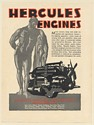 1931 Hercules Motors Corp Commercial Vehicle Engine Canton Ohio Print Ad
