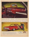 1961 Oldsmobile Ninety-Eight 98 Holiday Coupe Body by Fisher Carriage Print Ad