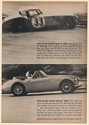 1963 BMC Austin Healey 3000 Sebring Race Car Convertible Could Be Yours Print Ad