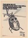 1979 MBB BK 117 Helicopter Still Remember HAA in 1989 Print Ad