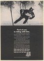 1971 U.S. Ski Team Help Equip and Train Squaw Valley Skier Print Ad