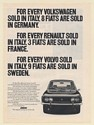 1971 Fiat Sells More Small Cars in Europe Print Ad
