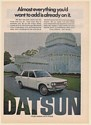1971 Datsun 510 4-Door Sedan Almost Everything You Want to Add Already on It Ad