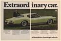 1972 Buick Riviera Extraordinary Car Something to Believe In 2-Page Print Ad