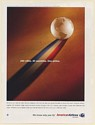 2005 American Airlines 250 Cities 40 Countries One Airline World Print Ad