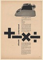 1963 Olivetti Underwood Divisumma 24 Adding Machine It Even Looks Versatile Ad