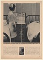 1963 Ampex DAS-100 Mobile Analog Data Acquisition System Nurse Hospital Beds Ad