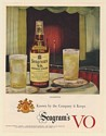 1951 Seagram's VO Canadian Whisky Celebrities Print Ad