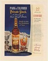 1951 Park & Tilford Private Stock America's Luxury Whiskey Print Ad