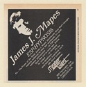 1979 James J Mapes ESP Hypnosis Psi Show Booking Trade Print Ad