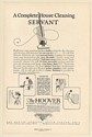 1925 Hoover Vacuum Cleaner Complete House Cleaning Servant Print Ad