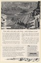 1955 Grand Canyon Arizona Four Miles Wide and a Mile Deep Sinclair Oil Print Ad