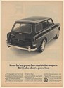 1966 VW Volkswagen Squareback Sedan Less Grand Than Most Station Wagons Print Ad