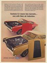 1969 Mercury Cyclone CJ 428 Wears Two Bonnets One with Ram Air Induction Ad