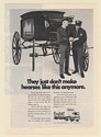 1971 Mayflower Moving 1887 Horse-Drawn Hearse Don't Make Like This Anymore Ad
