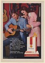 1971 Viceroy Cigarette Man Playing 12-String Guitar Into Spanish Music Print Ad