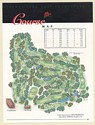1997 Safeway LPGA Golf Championship Course Map Print