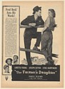 1947 Loretta Young Joseph Cotten The Farmer's Daughter RKO Movie Print Ad