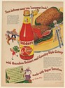 1947 Snider's Catsup Turn Leftover Meat into Company Hash Grandma Snider Ad