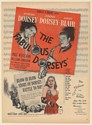 1947 Tommy Dorsey Jimmy Dorsey Janet Blair The Fabulous Dorseys Movie Print Ad