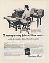 1952 Remington Rand Synchro-Matic Punched-Card and Accounting Machines Print Ad