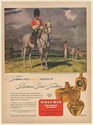 1946 Trooper of Second Dragoons Royal Scot Grays Donald Teague art Kings Men Ad