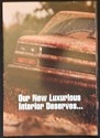 1994 Chevy Silverado Pickup Truck Luxurious Interior Double-Side Poster Print Ad