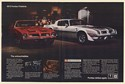 1975 Pontiac Firebird and Trans-Am The Untouchables Double-Page Print Ad