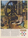 1964 Western Gear Precision Products Prospector Gold Panning Print Ad