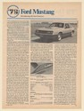1979 Ford Mustang Driving Impression Article