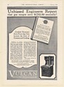 1926 Vulcan Economy Hot Top Gas Range Lowers Cost of Commercial Cooking Print Ad