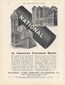 1926 National Tube Company in America's Foremost Banks Print Ad