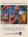 1994 Michelob Beer Selection Grip Follow-through 18 Holes Should be This Easy Ad