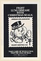 1985 Frosty the Snowman Fight Lung Disease with Christmas Seals Print Ad