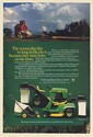1982 John Deere 108 Lawn Tractor Riding Mower Walk-behind Mower Born on Farm Ad