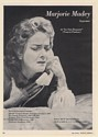 1965 Marjorie Madey Soprano Photo Booking Print Ad