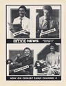 1987 WTVX News People Money Weather Sports Health Print Ad