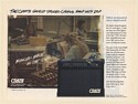 1994 Crate GX40D Amp Highest Nominated Amp of the Year Print Ad
