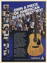 1994 Long Beach Traditional Blues Picnic 88.1 KLON Samick Dreadnought Guitar Ad