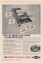 1960 Chevy Pickup Sturdi-Bilt Truck Put Together to Stay Together Print Ad