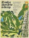 1985 Oakland Hills Country Club US Open Golf Course American Speedy Printing Ad