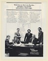 1985 Detroit Edison Economic Development Team Print Ad