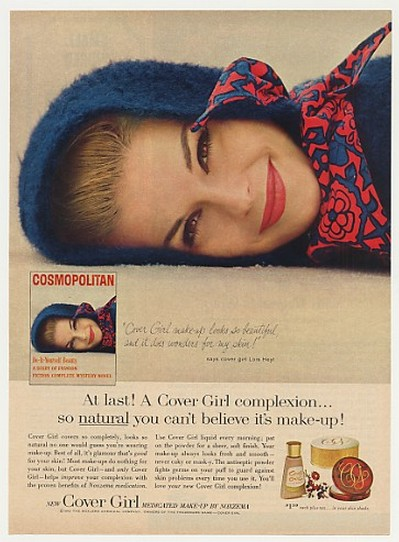 Adspast Com 1963 Cover Girl Make Up Lois Heyl Photo Ad