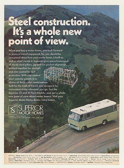 1971 Superior Motorhome http://www.adspast.com/store/customer/product.php?productid=43525