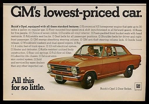 1970 buick opel